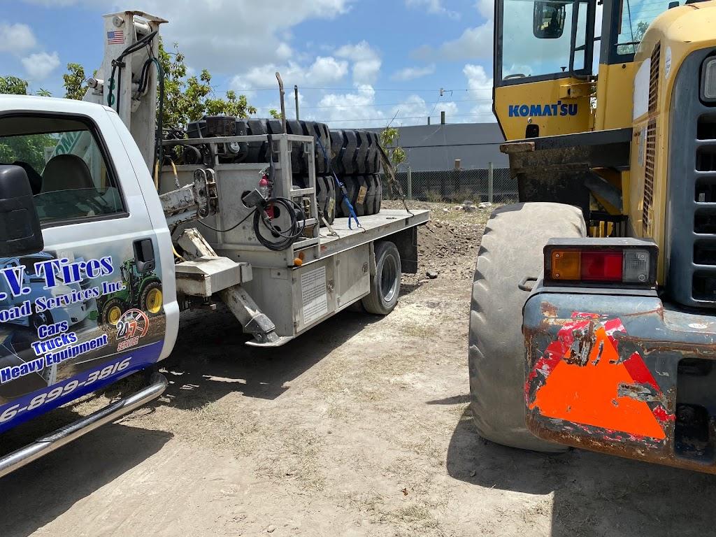 O.V Tires & Road Services Inc - car repair  | Photo 3 of 10 | Address: 2420 SE 15th St, Homestead, FL 33035, USA | Phone: (786) 899-3816