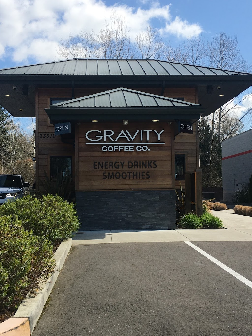 Gravity Coffee - Federal Way South - cafe  | Photo 3 of 10 | Address: 35007 Enchanted Pkwy S, Federal Way, WA 98003, USA | Phone: (253) 447-8740