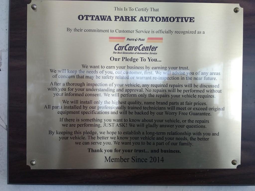 Ottawa Park Automotive - car repair  | Photo 1 of 2 | Address: 2424 Upton Ave, Toledo, OH 43606, USA | Phone: (419) 472-5756