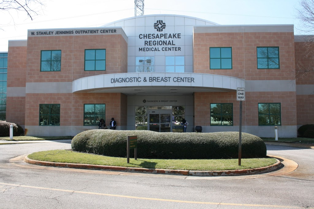 Chesapeake Regional Breast Care - health    Photo 2 of 10   Address: 844 N Battlefield Blvd #100, Chesapeake, VA 23320, USA   Phone: (757) 312-6137