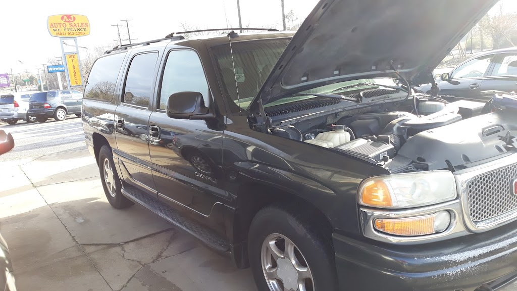 AJ Auto Sales - car dealer    Photo 3 of 10   Address: 7421 Jefferson Davis Hwy, Richmond, VA 23237, USA   Phone: (804) 912-2250