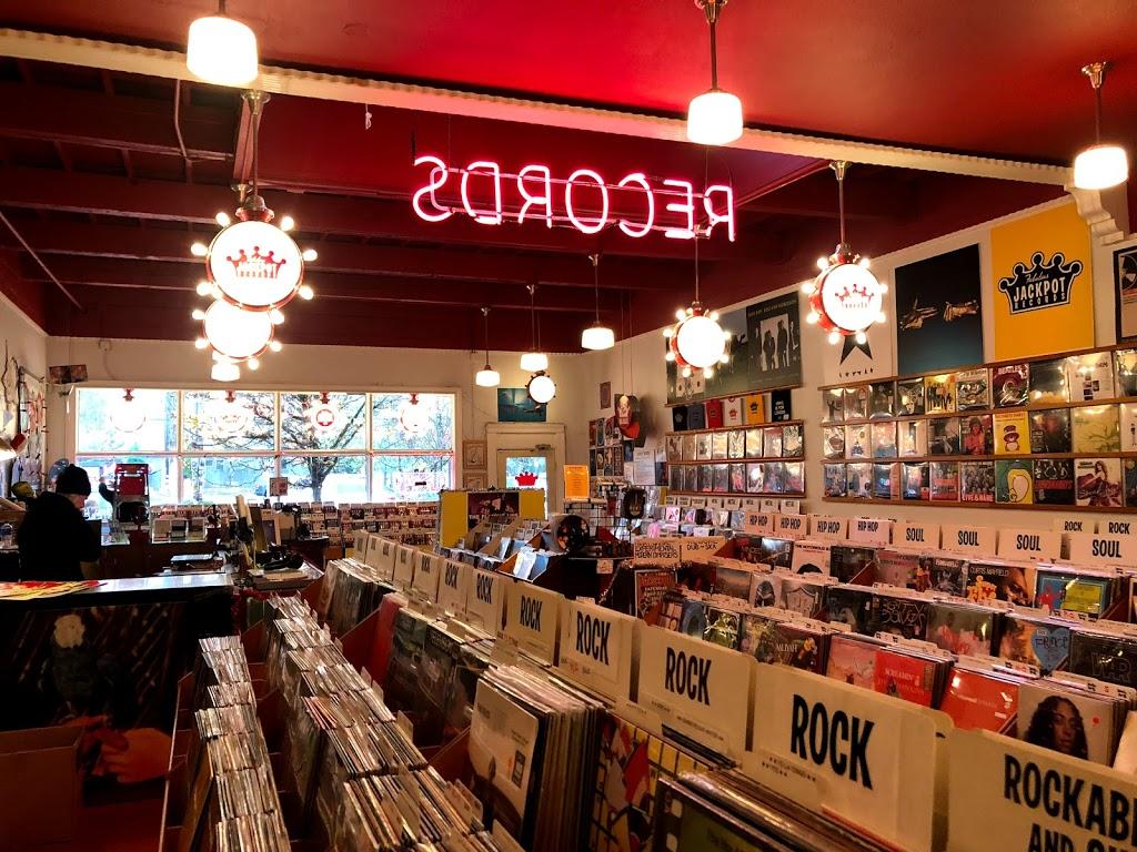 Jackpot Records - electronics store    Photo 4 of 10   Address: 3574 SE Hawthorne Blvd, Portland, OR 97214, USA   Phone: (503) 239-7561
