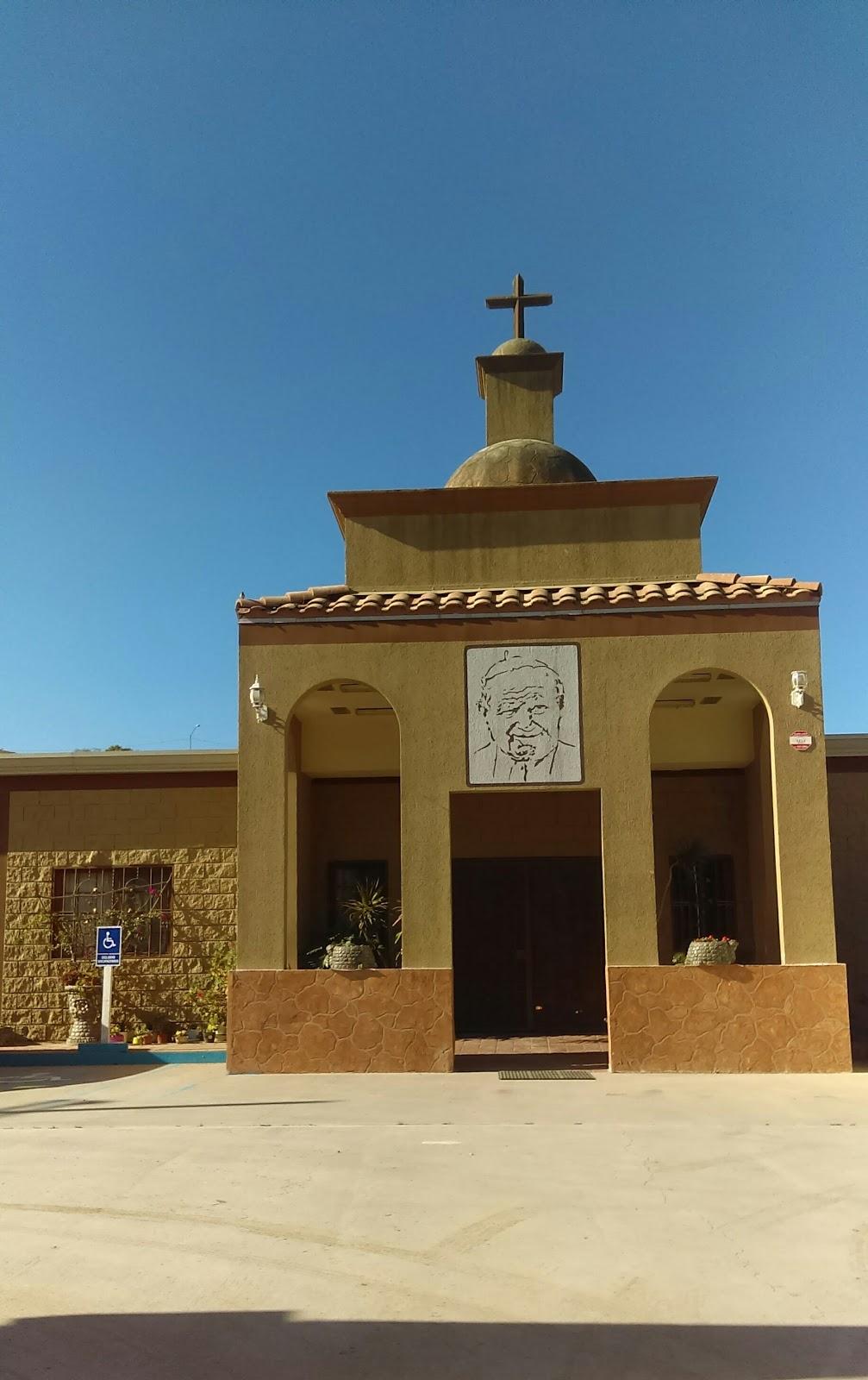 Asilo Beato Juan Pablo II - hospital  | Photo 1 of 1 | Address: vasco de Quiroga s/n., La Gloria, 22645 Tijuana, B.C., Mexico | Phone: 664 636 1609