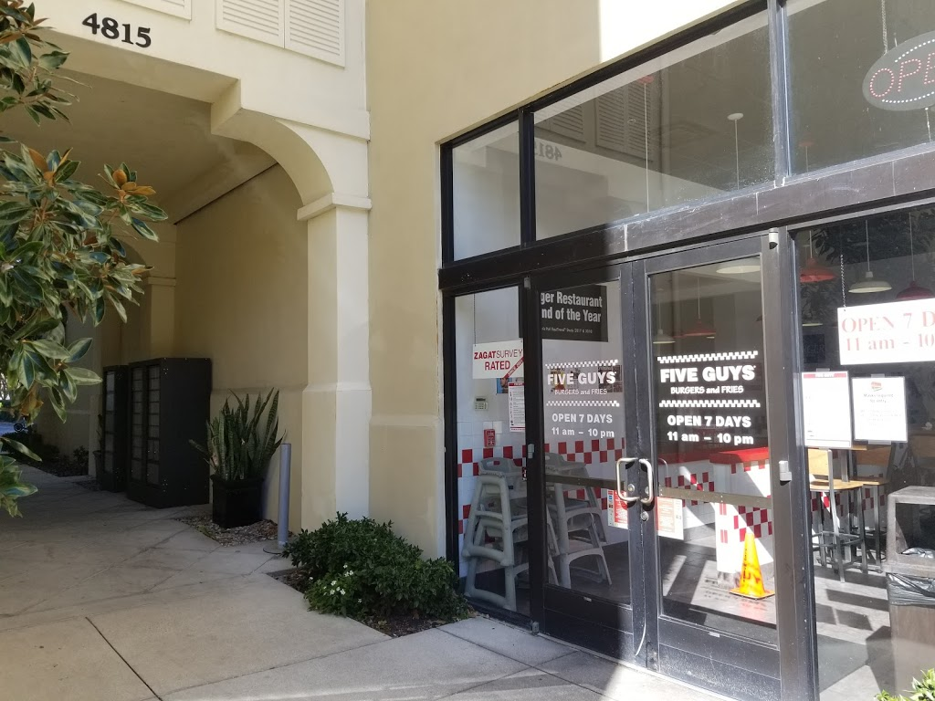 Five Guys - meal takeaway  | Photo 6 of 10 | Address: 4821 New Broad St, Orlando, FL 32814, USA | Phone: (407) 219-3366