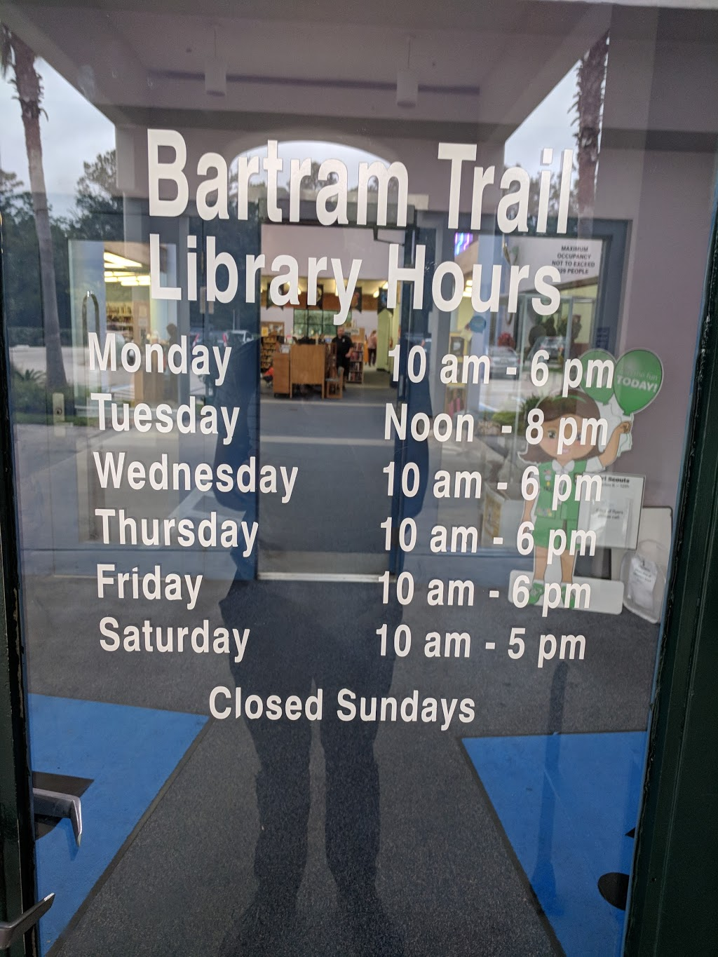 Bartram Trail Branch | St. Johns County Public Library System - library  | Photo 7 of 7 | Address: 60 Davis Pond Blvd, Fruit Cove, FL 32259, USA | Phone: (904) 827-6960