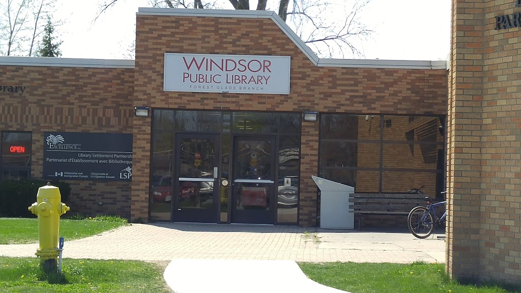 Forest Glade Public Library - library  | Photo 1 of 1 | Address: 3211 Forest Glade Dr, Windsor, ON N8R 1W7, Canada | Phone: (519) 255-6770