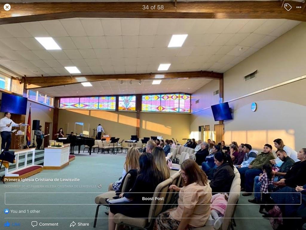 Primera Iglesia Cristiana - church  | Photo 1 of 1 | Address: 880 Fox Ave, Lewisville, TX 75067, USA | Phone: (469) 826-2750