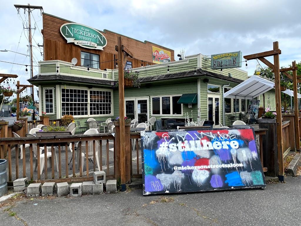 Nickerson St Saloon - restaurant    Photo 1 of 10   Address: 318 Nickerson St, Seattle, WA 98109, USA   Phone: (206) 284-8819