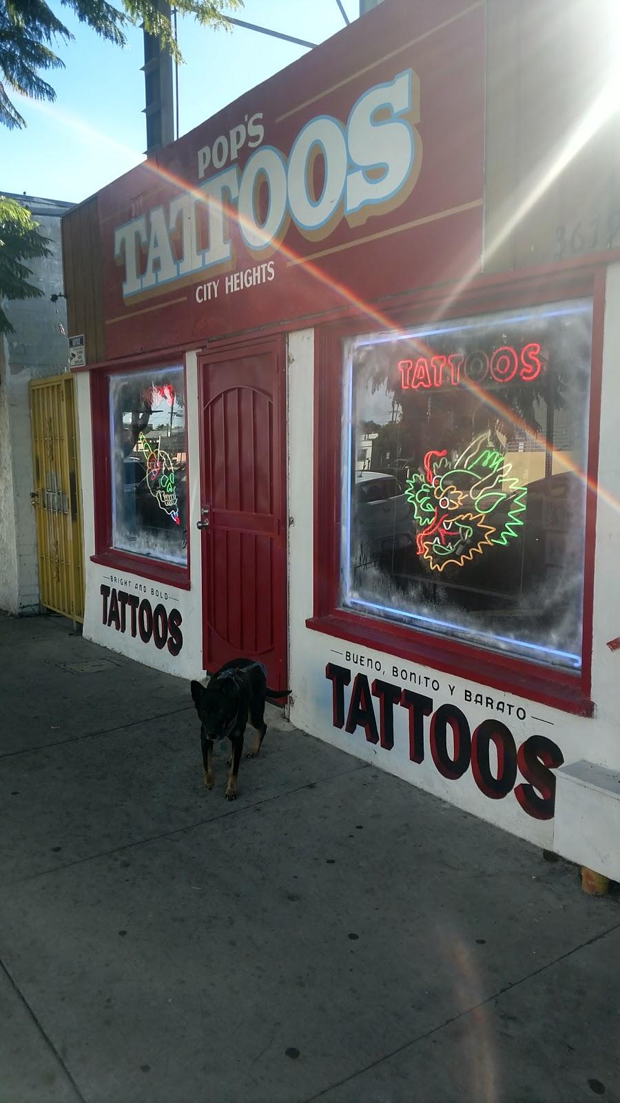 Pops Tattoos - store    Photo 4 of 4   Address: 3679 University Ave, San Diego, CA 92104, USA   Phone: (619) 788-7300