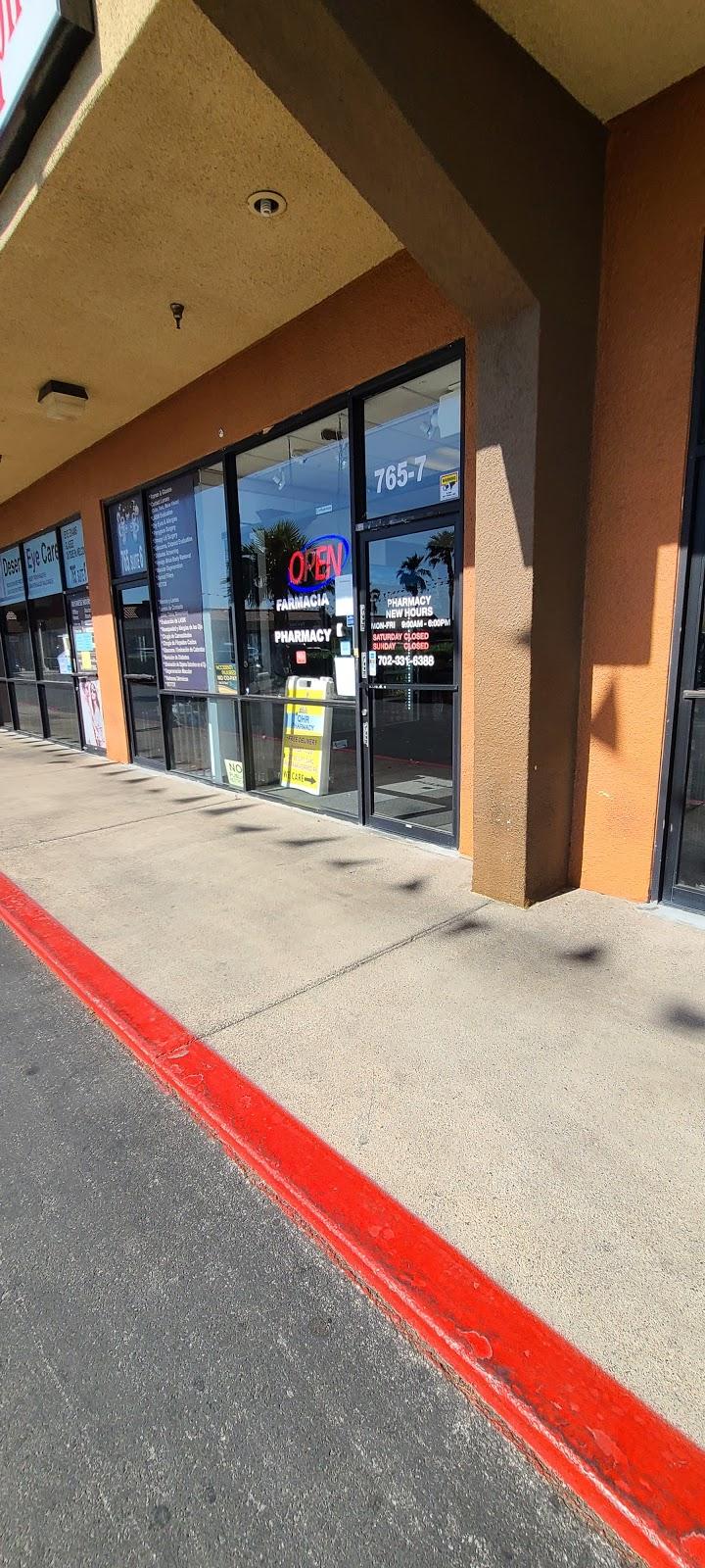 QHR Pharmacy - pharmacy    Photo 5 of 5   Address: 765 N Nellis Blvd #7, Las Vegas, NV 89110, USA   Phone: (702) 331-6388