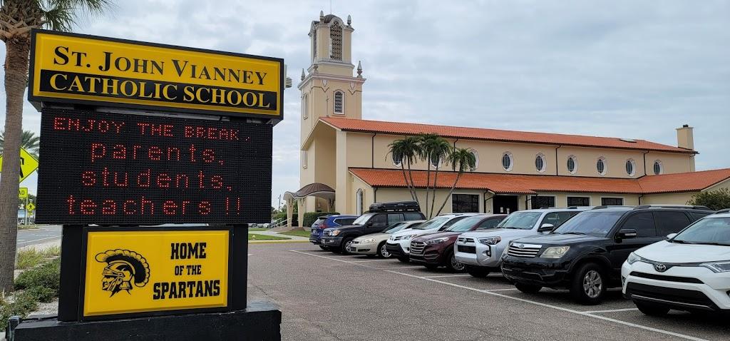 St John Vianney Catholic Church - church  | Photo 7 of 10 | Address: 445 82nd Ave, St Pete Beach, FL 33706, USA | Phone: (727) 360-1147