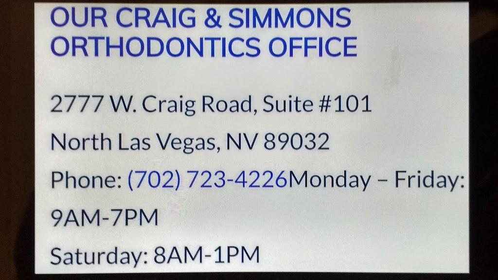 Significance Orthodontics - dentist    Photo 8 of 10   Address: 2777 W Craig Rd Ste 101, North Las Vegas, NV 89032, USA   Phone: (702) 213-7460