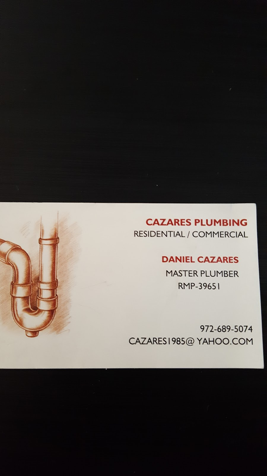 Cazares plumbing - plumber    Photo 8 of 10   Address: 4777 Memorial Dr #121, The Colony, TX 75056, USA   Phone: (972) 689-5074