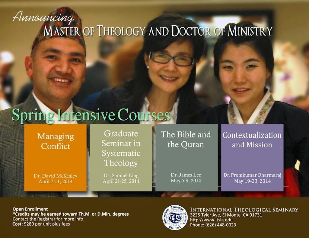 International Theological Seminary - school    Photo 9 of 9   Address: 540 E Vine Ave, West Covina, CA 91790, USA   Phone: (626) 653-9547