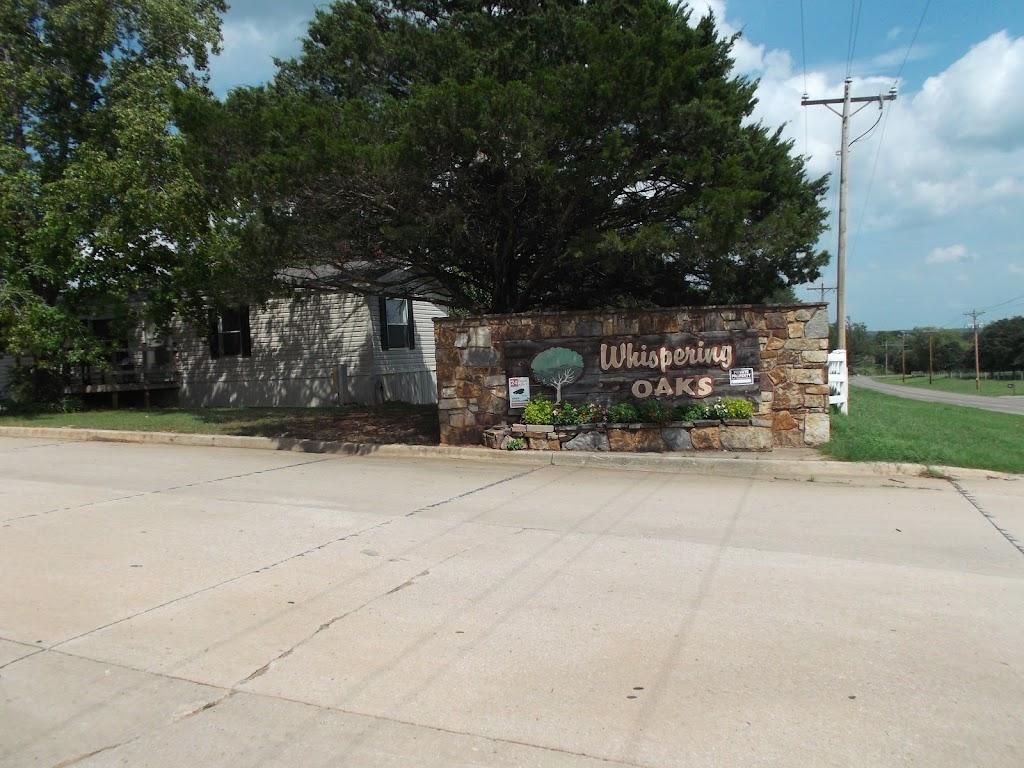 Whispering Oaks - rv park  | Photo 1 of 2 | Address: 9651 E Waterloo Rd, Arcadia, OK 73007, USA | Phone: (405) 396-2791