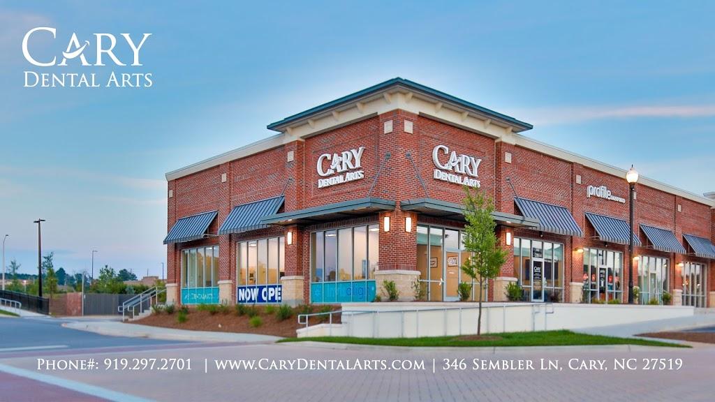 Cary Dental Arts - dentist  | Photo 1 of 8 | Address: 346 Sembler Ln, Cary, NC 27519, USA | Phone: (919) 297-2701