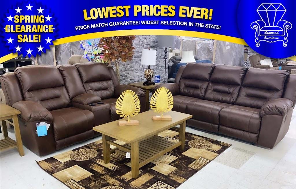 Diamond Furniture - furniture store    Photo 10 of 10   Address: 9096 Parkway E, Birmingham, AL 35206, USA   Phone: (205) 703-8411
