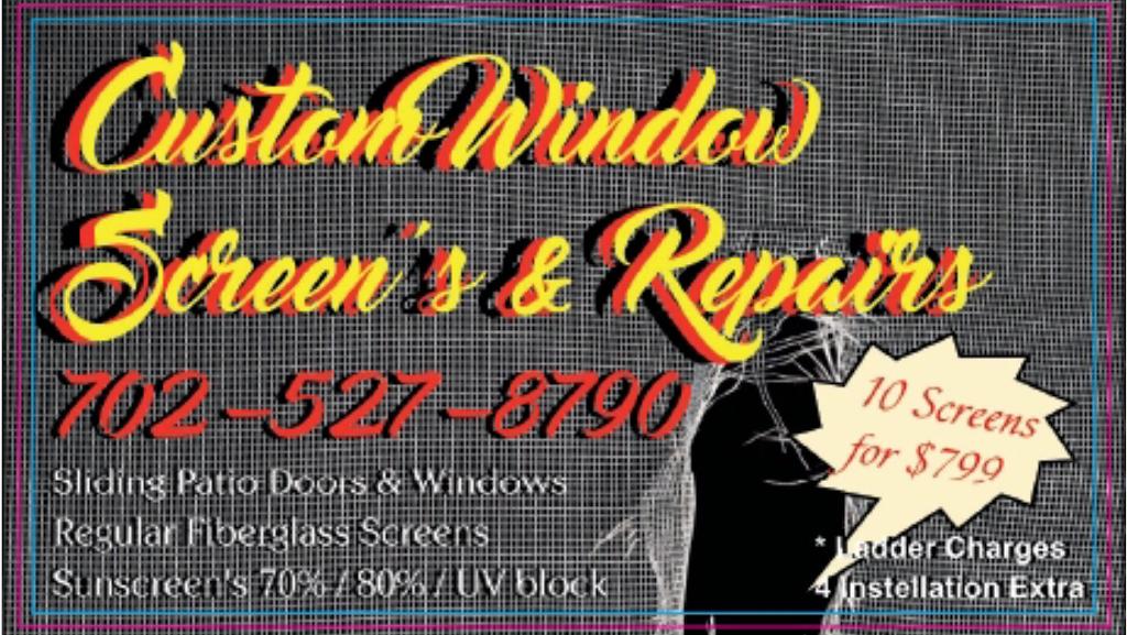 Nevada Screens - store    Photo 2 of 10   Address: 1810 Night Shadow Ave, North Las Vegas, NV 89031, USA   Phone: (702) 527-8790