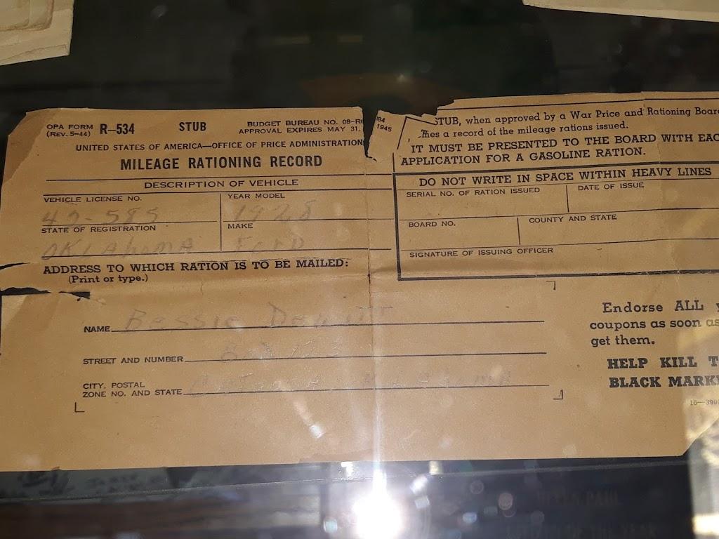 Catoosa Historical Museum - museum  | Photo 10 of 10 | Address: 217 S Cherokee St #201, Catoosa, OK 74015, USA | Phone: (918) 266-3296