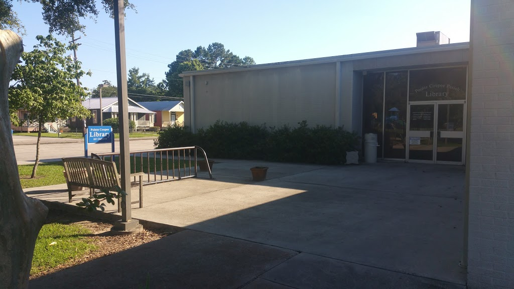 Pointe Coupee Library - library    Photo 5 of 5   Address: 201 Claiborne St, New Roads, LA 70760, USA   Phone: (225) 638-7593