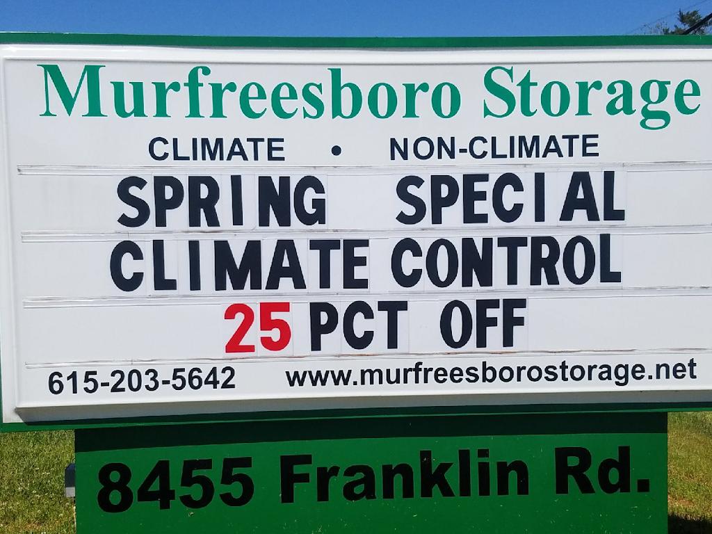 Murfreesboro Storage - storage  | Photo 3 of 7 | Address: 8455 Franklin Rd, Murfreesboro, TN 37128, USA | Phone: (615) 203-5642