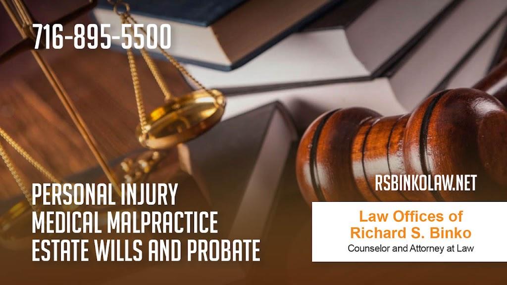 Law Offices of Richard S. Binko - lawyer  | Photo 10 of 10 | Address: 2427 William St, Buffalo, NY 14206, USA | Phone: (716) 895-5500