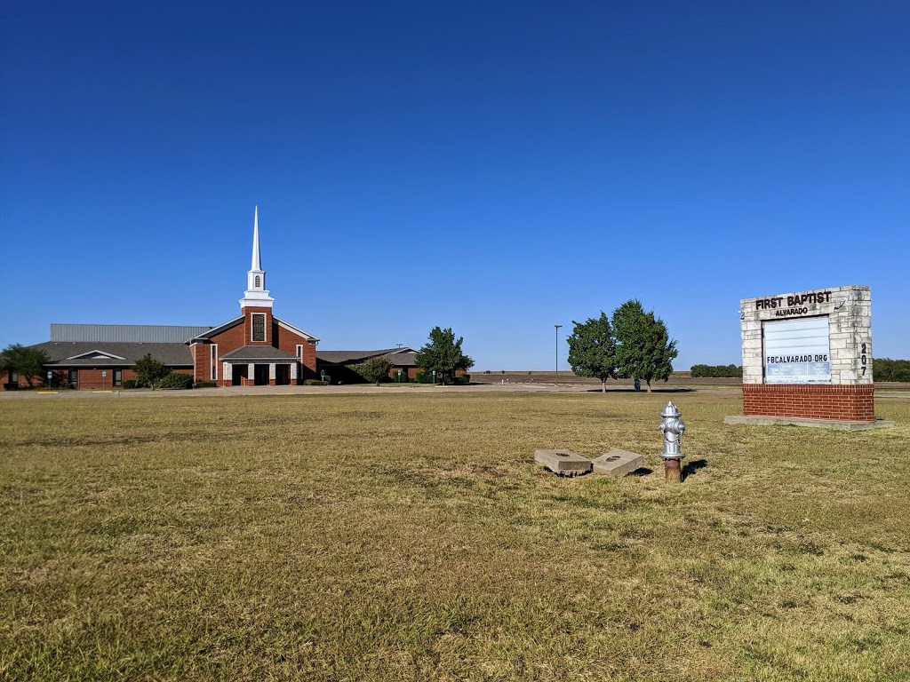 First Baptist Church - church    Photo 5 of 7   Address: 207 US-67, Alvarado, TX 76009, USA   Phone: (817) 783-5181