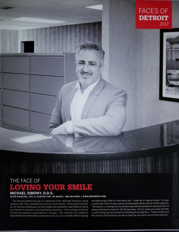 Simony Dental Group - dentist  | Photo 3 of 10 | Address: 41700 Hayes Rd suite d, Clinton Twp, MI 48038, USA | Phone: (586) 263-9300