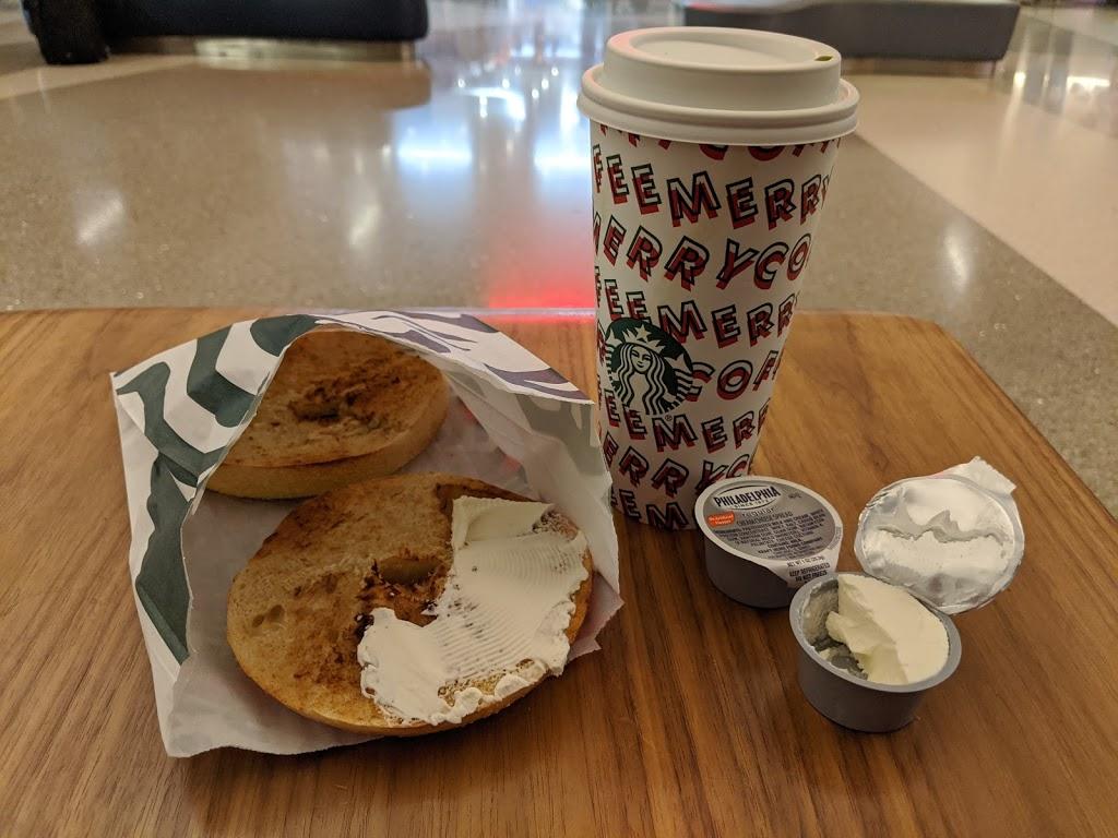 Starbucks - cafe  | Photo 2 of 10 | Address: 1 World Way LAX T4-Baggage Claim, Los Angeles, CA 90045, USA | Phone: (310) 665-9445