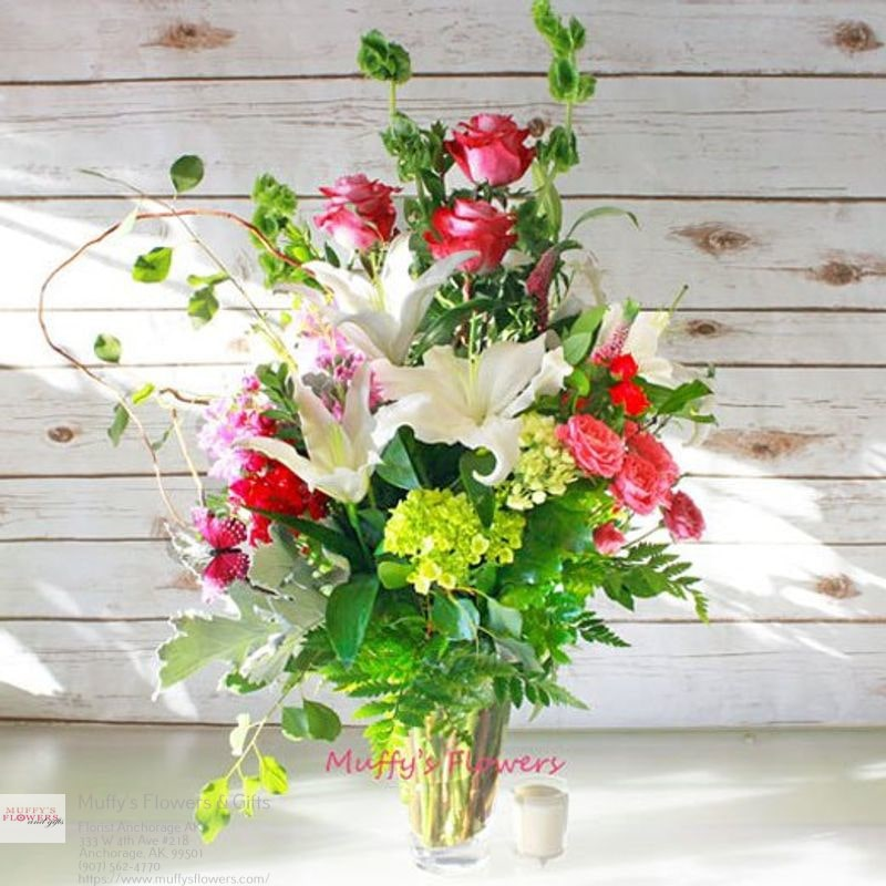 Muffys Flowers & Gifts - florist  | Photo 2 of 4 | Address: 333 W 4th Ave #218, Anchorage, AK 99501, United States | Phone: (907) 562-4770