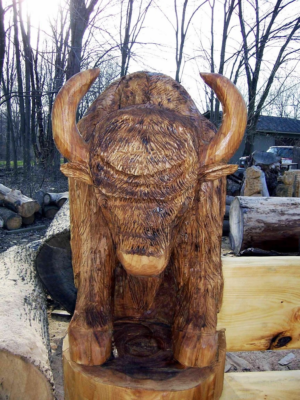 Carvings by Scott - art gallery    Photo 7 of 10   Address: 31570 Sikon St, New Baltimore, MI 48047, USA   Phone: (586) 212-7268