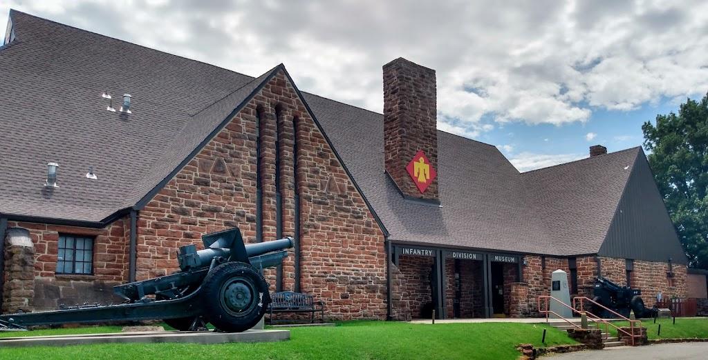45th Infantry Division Museum - museum    Photo 2 of 10   Address: 2145 NE 36th St, Oklahoma City, OK 73111, USA   Phone: (405) 424-5313