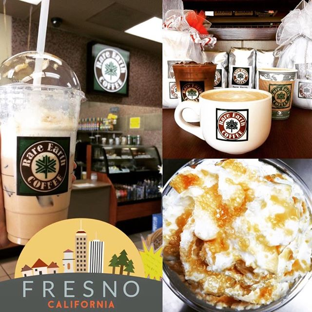 Rare Earth Coffee - cafe  | Photo 2 of 10 | Address: 7505 N Willow Ave, Fresno, CA 93720, USA | Phone: (559) 940-7538