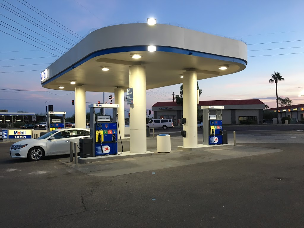 Mobil - gas station  | Photo 8 of 9 | Address: 304 N Hayden Rd, Scottsdale, AZ 85257, USA | Phone: (480) 429-1144