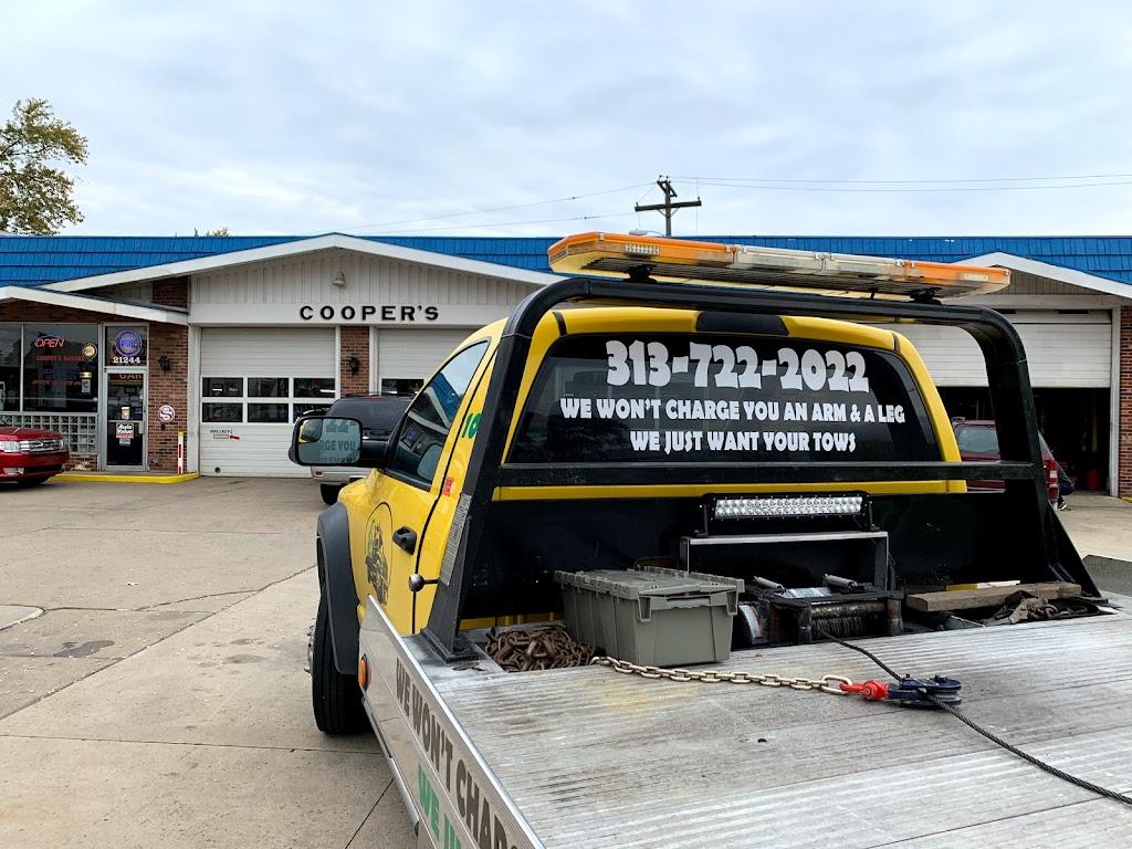 Coopers Garage - car repair    Photo 1 of 10   Address: 21244 Van Born Rd, Dearborn Heights, MI 48125, USA   Phone: (313) 278-0408