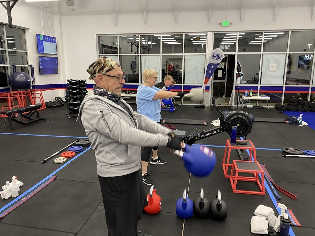F45 Training Stetson Hills (Colorado Springs) - gym  | Photo 7 of 10 | Address: 5860 Barnes Rd, Colorado Springs, CO 80922, USA | Phone: (719) 465-9116