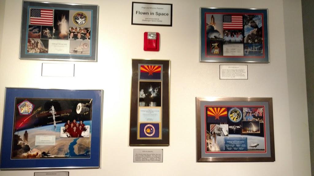 Arizona Challenger Space Center - museum    Photo 6 of 10   Address: 17835 N 44th St, Phoenix, AZ 85032, USA   Phone: (623) 322-2001