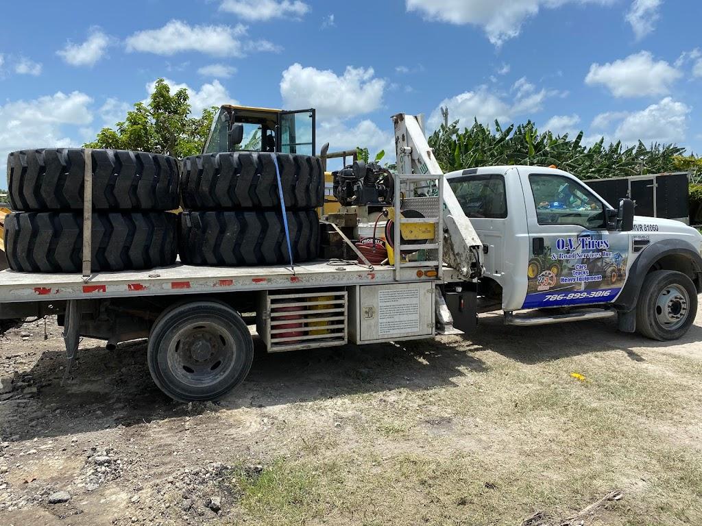O.V Tires & Road Services Inc - car repair  | Photo 7 of 10 | Address: 2420 SE 15th St, Homestead, FL 33035, USA | Phone: (786) 899-3816