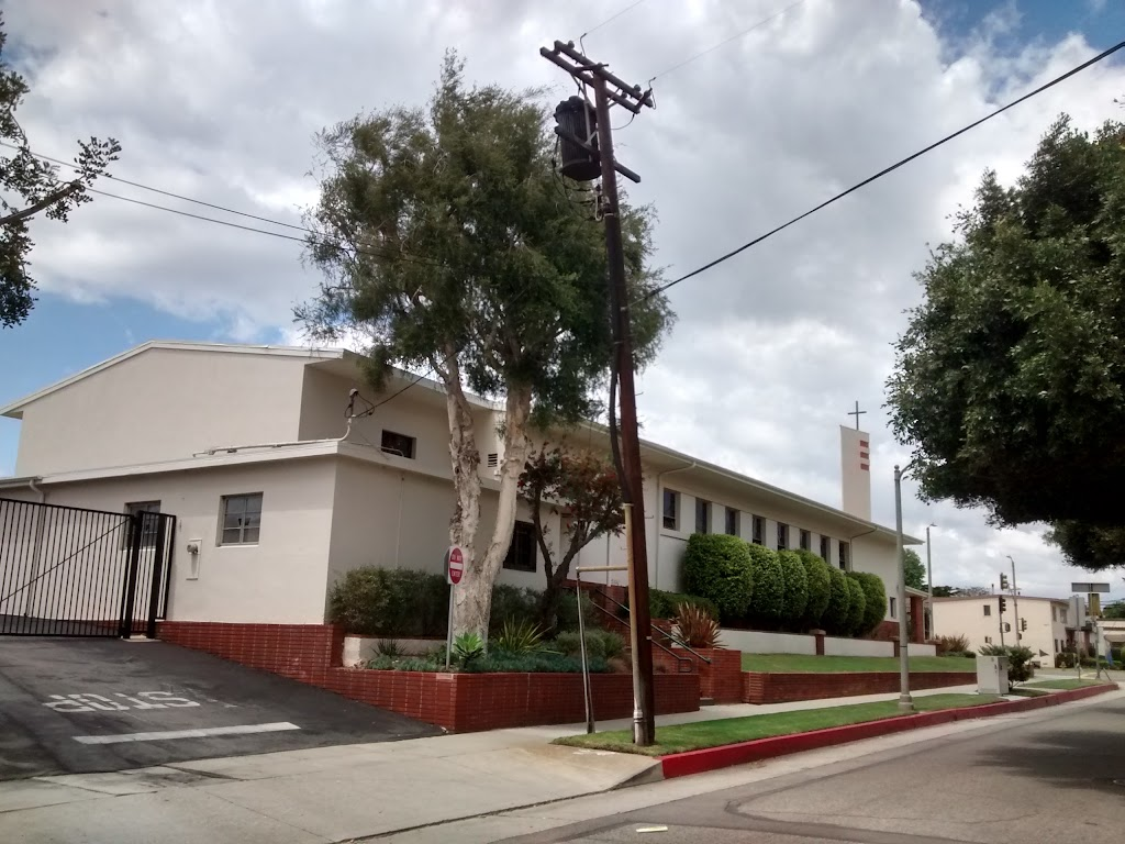 St Anastasias Catholic Church - church    Photo 1 of 10   Address: 7390 W Manchester Ave, Los Angeles, CA 90045, USA   Phone: (310) 670-2243
