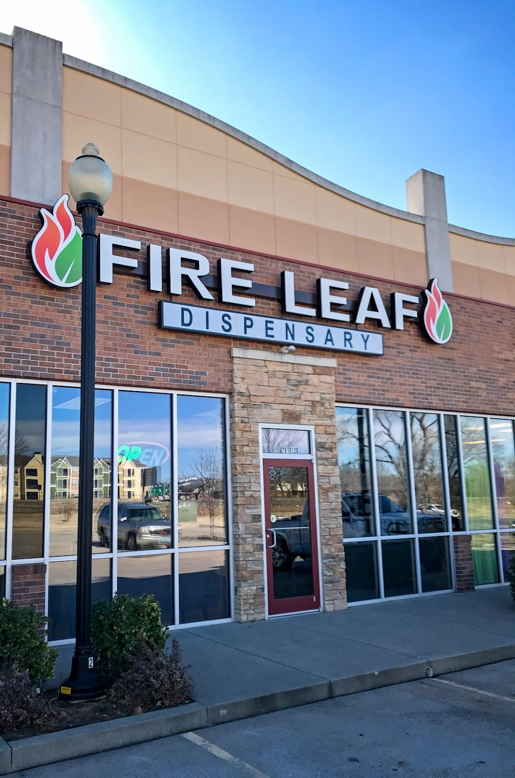 Fire Leaf Dispensary in Norman Oklahoma - pharmacy  | Photo 1 of 10 | Address: 751 S Canadian Trails Dr #120, Norman, OK 73072, USA | Phone: (405) 310-2433