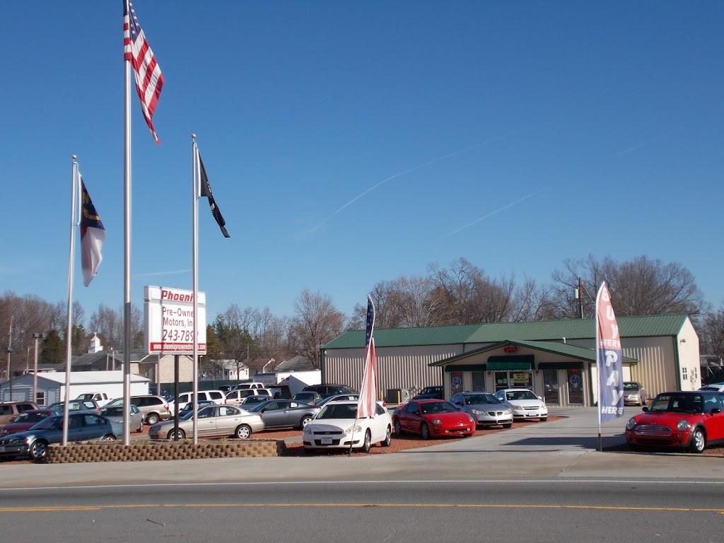 Phoenix Preowned Motors - car dealer    Photo 1 of 9   Address: 1496 Old U.S. Hwy 52, Lexington, NC 27295, USA   Phone: (336) 243-7892
