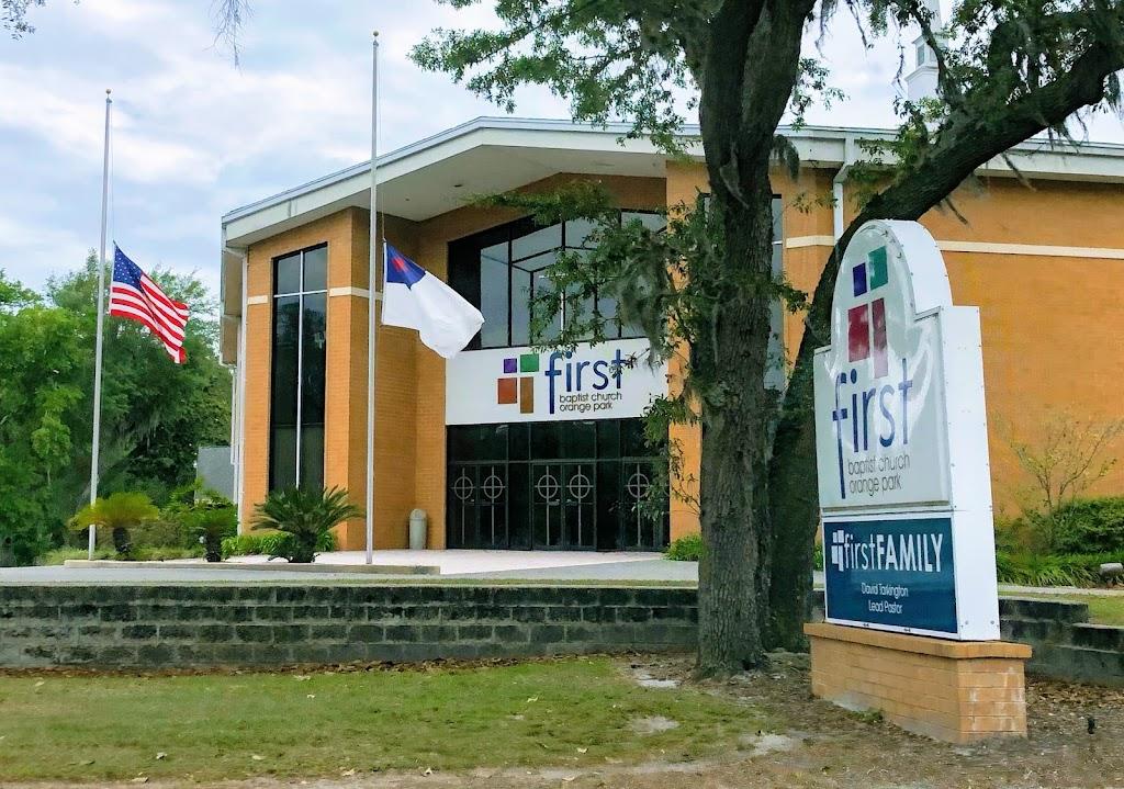 First Baptist Church of Orange Park - church    Photo 6 of 10   Address: 1140 Kingsley Ave, Orange Park, FL 32073, USA   Phone: (904) 264-2351