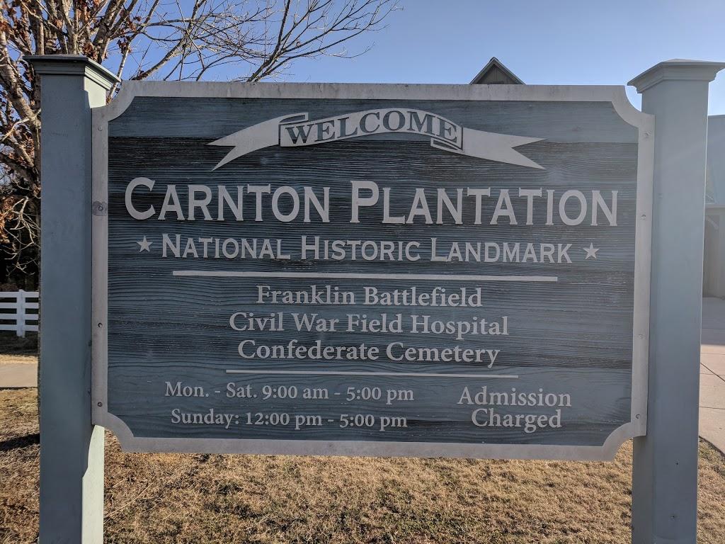 Carnton - cemetery    Photo 5 of 10   Address: 1345 Eastern Flank Cir, Franklin, TN 37064, USA   Phone: (615) 794-0903