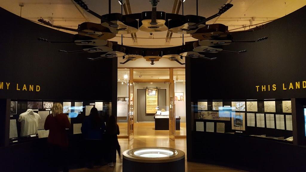 Woody Guthrie Center - museum    Photo 10 of 10   Address: 102 E Reconciliation Way, Tulsa, OK 74103, USA   Phone: (918) 574-2710