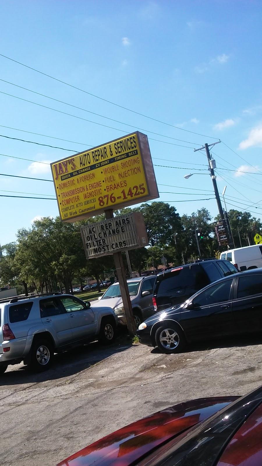 Jays Auto Repair - car repair    Photo 2 of 4   Address: 6326 N Armenia Ave, Tampa, FL 33604, USA   Phone: (813) 876-1425