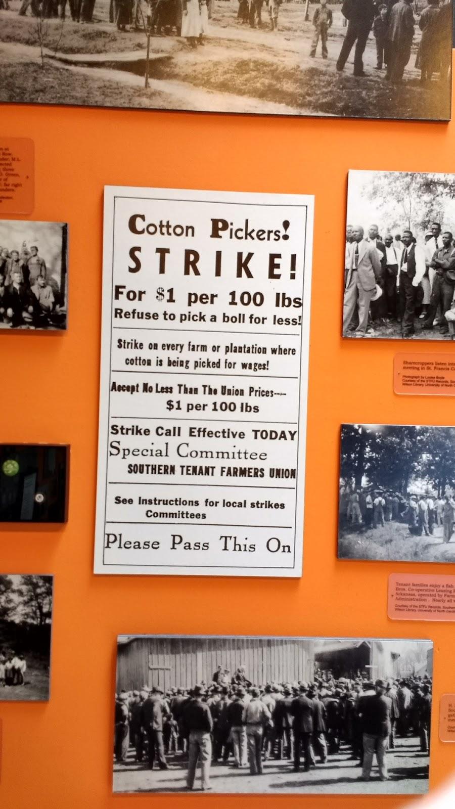 Southern Tenant Farmers Museum - museum  | Photo 10 of 10 | Address: 117 N Main St, Tyronza, AR 72386, USA | Phone: (870) 487-2909
