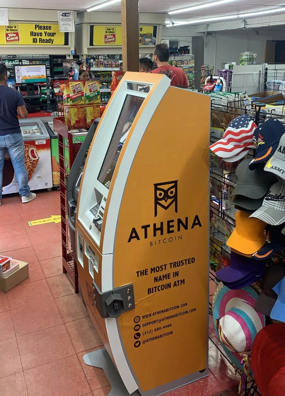 Athena Bitcoin ATM - atm    Photo 2 of 3   Address: 2409 W Trapnell Rd, Plant City, FL 33566, USA   Phone: (312) 690-4466