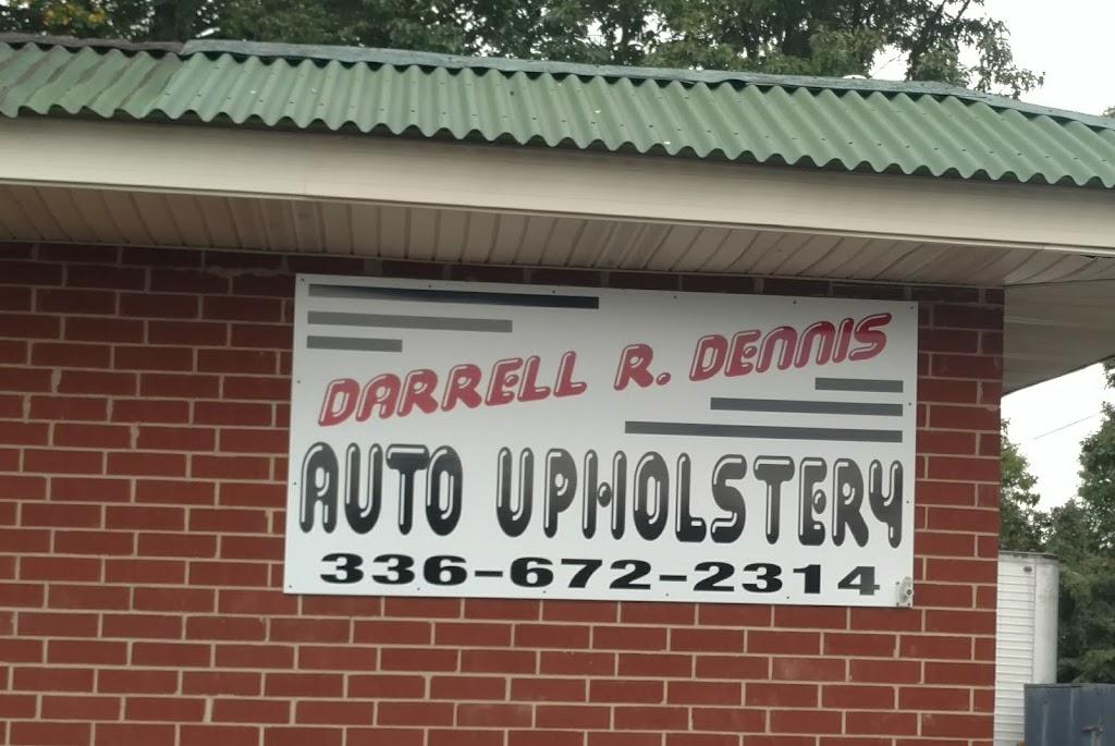 Darrell R Dennis Auto Upholstery - car repair    Photo 1 of 1   Address: 113 Woodberry St, Asheboro, NC 27203, USA   Phone: (336) 672-2314