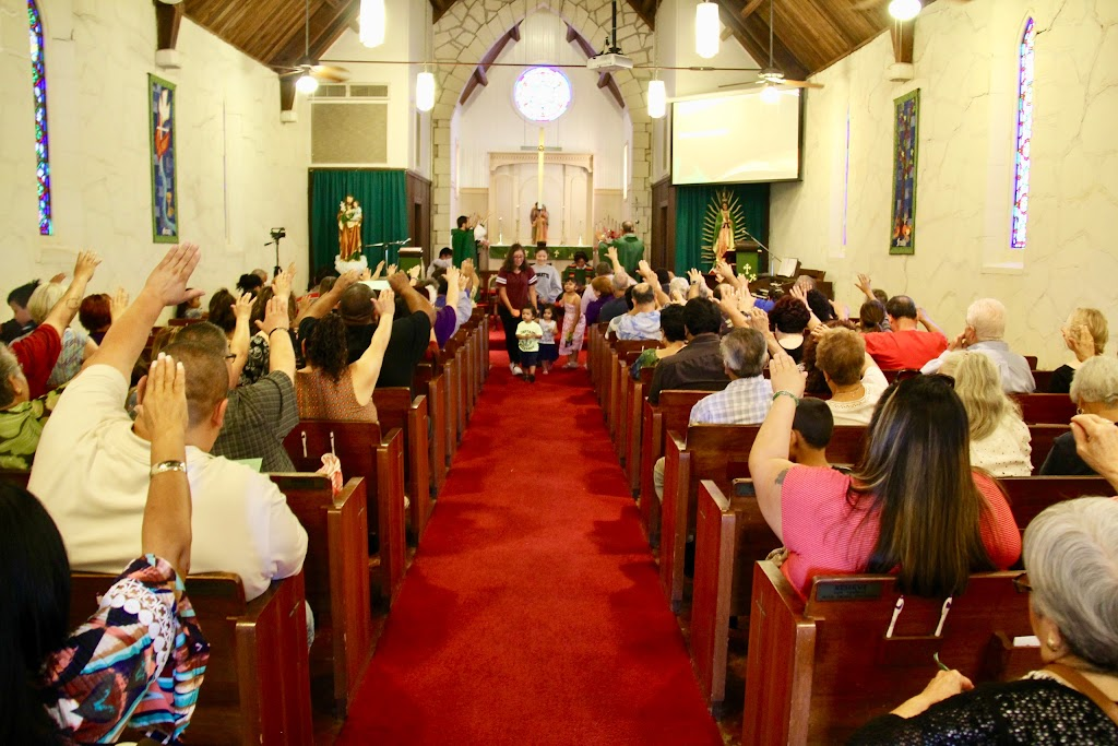 Holy Family Catholic Church - church    Photo 1 of 10   Address: 9322 FM812, Austin, TX 78719, USA   Phone: (512) 826-0280