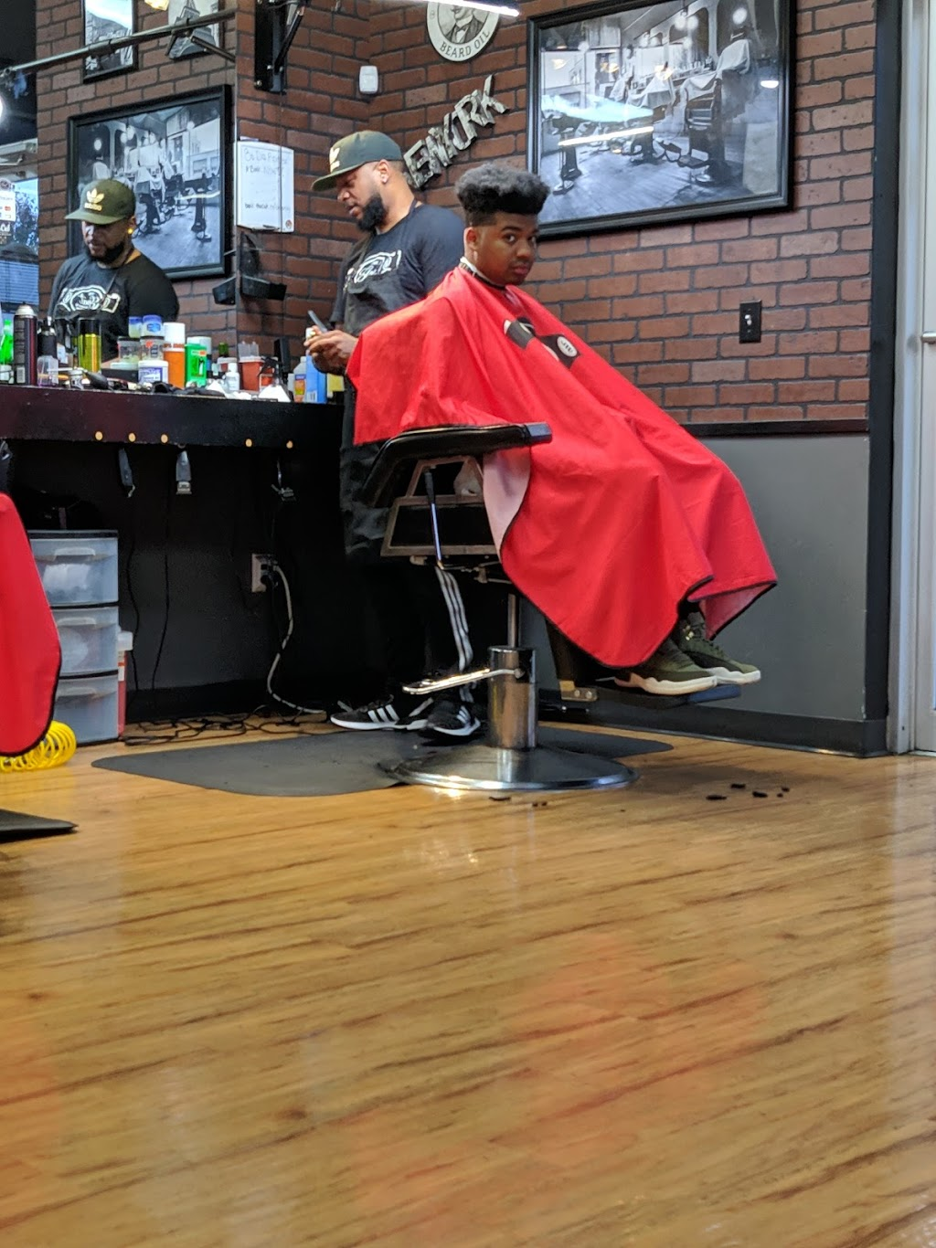Goat Barber Shop - hair care    Photo 5 of 10   Address: 3425 Old 41 Hwy NW, Kennesaw, GA 30144, USA   Phone: (678) 324-8673